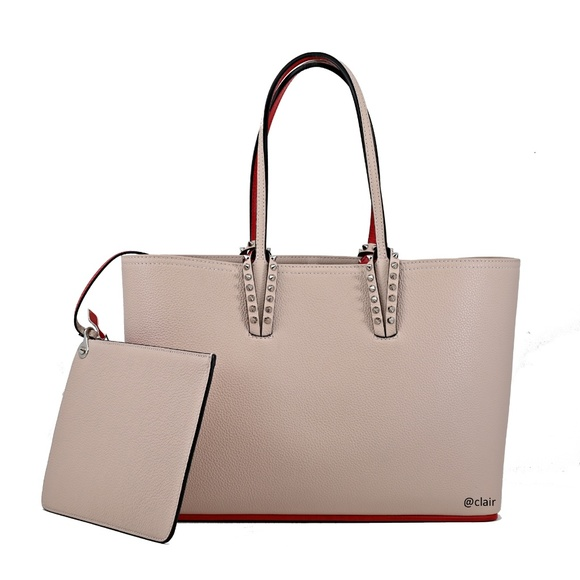 Christian Louboutin Handbags - Christian Louboutin Small Cabata Leather Tote